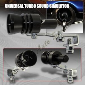 Universal Black Fake Turbo Sound Exhaust Blow Off Valve Simulator Whistler Xl