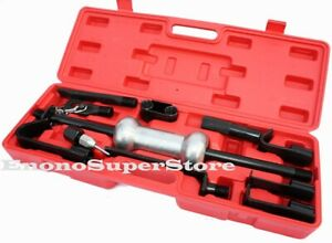 13pc 10lbs Dent Puller W slide Hammer Auto Body Truck Repair Tool Kit