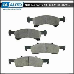 Brake Pad Premium Ceramic Front For Ford Expedition Lincoln Navigator
