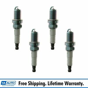 Ngk 7090 Platinum Spark Plug Kit Set Of 4 For Corolla Sentra Altima Miata Civic