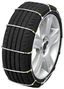 185 65 14 185 65r14 Tire Chains Cobra Cable Snow Ice Traction Passenger Vehicle