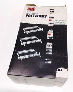 Acco 2 Capacity 2 3 4 Centers No 22 Paper Fasteners Lot Of 500 Nib