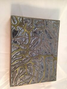 Letterpress Printing Printer Block Wood Metal New Mexico Santa Fe Ntl Forest