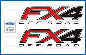 2012 2014 Ford F150 Fx4 Off Road Decals F Offroad Stickers Truck 4x4 Bed Side