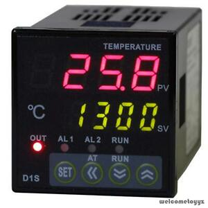1 16 Din Digital Pid Temperature Controller Relay Output Thermocouple 100 240vac