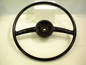 Vintage 1951 1952 1953 Packard Steering Wheel Dark Brown