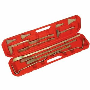 Sealey Car Body Shop Panel Levering separating Tool Set 13pc Cb50