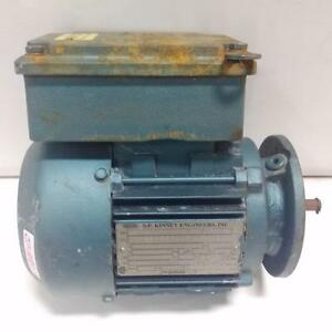Sp Kinney 1 2hp 1700rpm Gear Motor Dft71d4