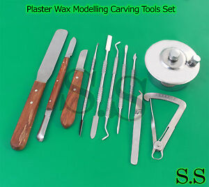 Jewllers Lab Technician Kit Spirit Lamp Plaster Wax Modelling Carving Tools