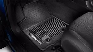 Toyota Tacoma 2016 Mt Black All Weather Rubber Front Floor Mats Oem New