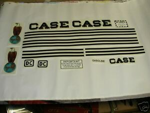 Case Dc Tractor Decal Set New Free Shipping