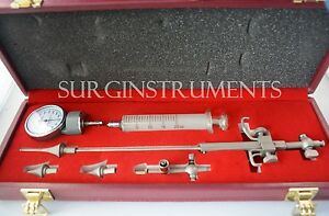 Cannula Trocar Set Of 6 Medical Surgical Instruments Laparoscopic