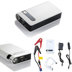 9000mah 12v Car Vehicle Emergency Backup Power Bank Jump Start Phone Charger