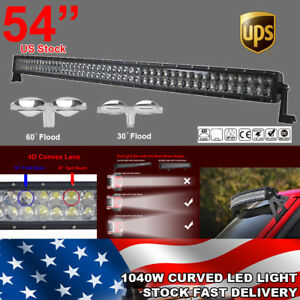 240w 32 Inch Cree Led Work Light Bar Combo Offroad 4wd Suv Boat Driving Suv Lamp