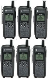 Motorola Dtr410 900 Mhz Ism Digital On site Business Two way Radios Lot Of 6