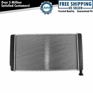 Radiator Assembly Plastic Tank Aluminum Core For Chevy Gmc Van W Oil Cooler