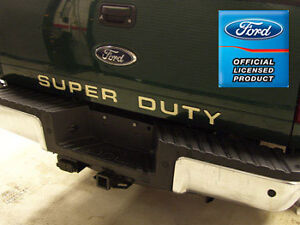 Ford F250 F350 Super Duty Tailgate Letters Inserts Stickers Years 2008 2016