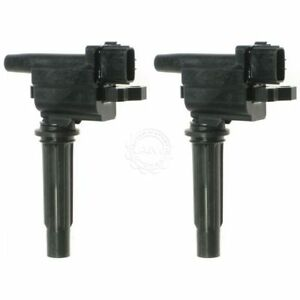 Ignition Coil Set For L4 1 6l Pair Set Of 2 For 99 01 Mazda Protege