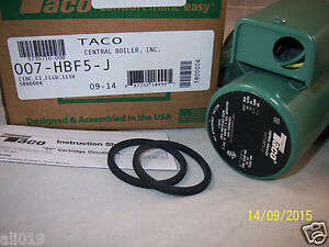 Taco Pump 007 hbf5 j Cast Iron And Flange Kit Central Boiler Circulates Water