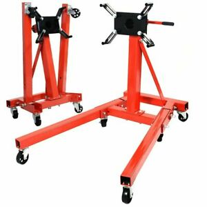 2000lb Engine Motor Stand Hoist Auto Car Truck Automotive Folding Shop Jack