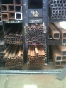 Steel Square Tube 6 X 6 X 350 X 60 Light Rust Surplus