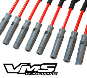 Vms Racing 10 2mm Spark Plug Wire Set Camaro Corvette Ls1 Ls2 Ls3 Ls6 Ls7 Ls9