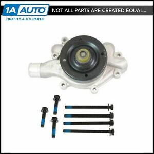 Water Pump W Mounting Hardware For 93 01 Dodge Ram Truck
