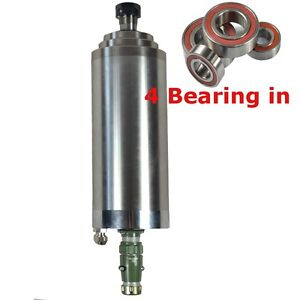 Four Bearing Er20 4kw Water cooled Motor Spindle Engraving Mill Grind Cequality