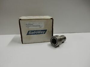 Safeway Ss105 4 Hydraulic Female Coupling Quick Disconnect Ss 1 2 New
