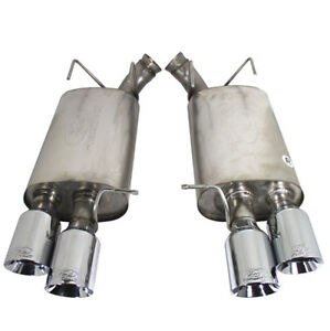 Ford Racing 13 14 Mustang Gt500 Stainless Mufflers Dual Double Sport Exhaust Kit