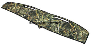 New Realtree Max 5 Camo Camouflage Dash Mat Cover For 1981 93 Dodge Ram Truck