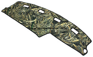 New Realtree Max 5 Camo Camouflage Dash Mat Cover For 1994 97 Dodge Ram