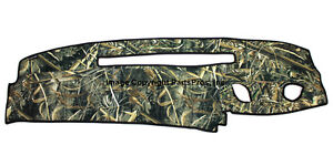 New Realtree Max 5 Camo Camouflage Dash Mat Cover For 1995 96 Chevy Truck