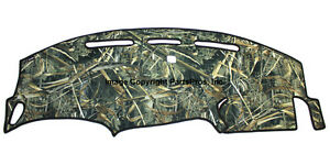 New Realtree Max 5 Camo Camouflage Dash Mat Cover For 1997 03 Ford F150 Truck