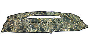New Realtree Max 5 Camo Camouflage Dash Mat Cover For 1997 99 Chevy Gmc C K