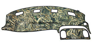 New Realtree Max 5 Camo Camouflage Dash Mat Cover For 1998 01 Dodge Ram Truck
