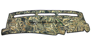 New Realtree Max 5 Camo Camouflage Dash Mat Cover For 1999 06 Chevy Gmc Truck