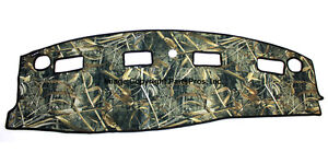 New Realtree Max 5 Camo Camouflage Dash Mat Cover For 2003 05 Dodge Ram Truck