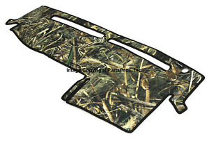 New Realtree Max 5 Camo Camouflage Dash Mat Cover For 2004 12 Colorado Canyon