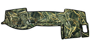 New Realtree Max 5 Camo Camouflage Dash Mat Cover For 2005 14 Tacoma Truck