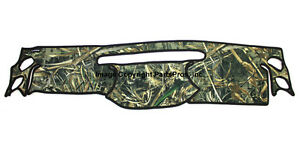 New Realtree Max 5 Camo Camouflage Dash Mat Cover For 2007 10 Jk Wrangler