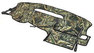 New Realtree Max 5 Camo Camouflage Dash Mat Cover For Listed 2007 13 Chevy Gmc