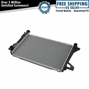 Radiator Assembly Aluminum Core Direct Fit For Ford Pickup Truck Suv New