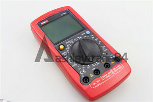 New Uni t Ut105 Handheld Ac dc Automotive Multi purpose Meter Tester