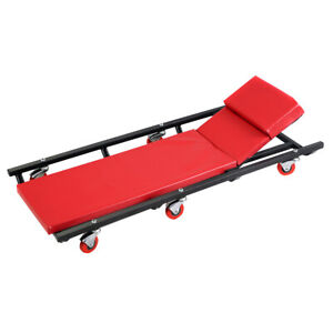 Mechanics Creeper Rolling Shop Garage Auto Car Repair Work Tool Wheels Cart New