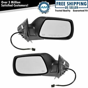 Mirrors Power Heated Pair Set Rh Lh For 05 10 Jeep Grand Cherokee