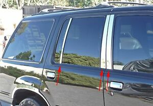 Ford Explorer 1998 2001 4dr Tfp Beveled Pillar Post 6pc Kit 1 Year Warranty