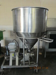 Stainless Meat Grinder With Large Feeding Funnel Tank