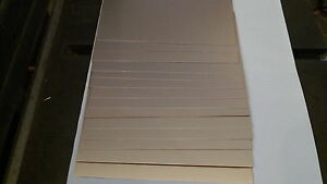 60 Pcs Copper Clad Circuit Board Laminate Fr 4 Double Sided 4 1 4 X 7 1 Oz