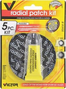 New Monkey Grip 04148 M8816 Radial 5 Pc Rubber Tire Repair Patch Kit 6391403